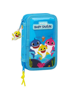 Baby Shark Filled pencil case - 28 pcs.