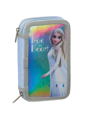 Disney Frozen Filled pencil case True at Heart - 28 pcs.