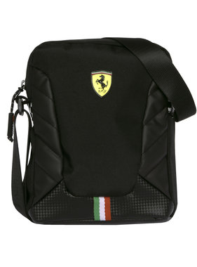 Ferrari Shoulder bag Nero - 21 cm