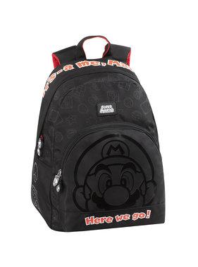 Super Mario Backpack Outline - 41 cm