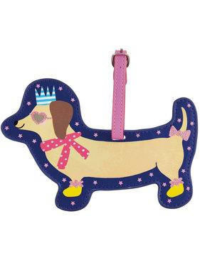Floss & Rock Luggage Label Dog - 15 cm