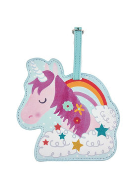 Floss & Rock Bagage Label Unicorn - 12.5 cm