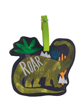 Floss & Rock Luggage Label Dinosaur - 13.5 cm