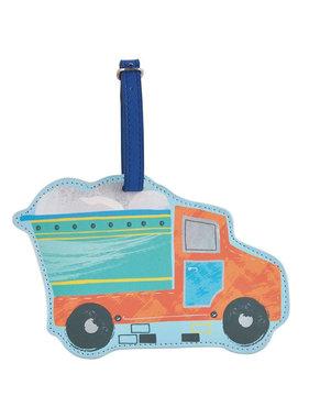 Floss & Rock Bagage Label Truck - 15.5 cm