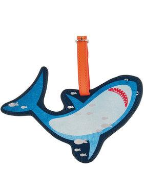 Floss & Rock Luggage Label Shark - 16 cm