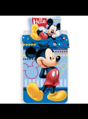 Disney Mickey Mouse Duvet cover Hello 140 x 200