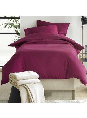 De Witte Lietaer Duvet cover Cotton Satin Olivia Beet Red 140 x 200/220 cm