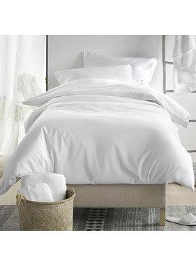 De Witte Lietaer Duvet cover Cotton Satin Olivia White 140 x 200/220 cm