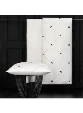 De Witte Lietaer Duvet cover Cotton Satin Butterflies Meteorite 140 x 200/220 cm