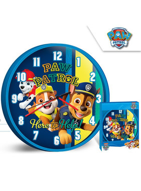 Paw Patrol wall clock Here to help 25 cm