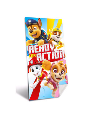 Paw Patrol Ready for Action beach towel 70 x 140 cm
