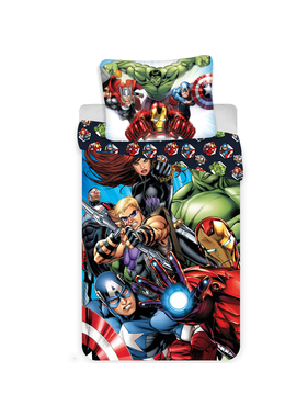 Marvel Avengers Dekbedovertrek All-Out 140 x 200