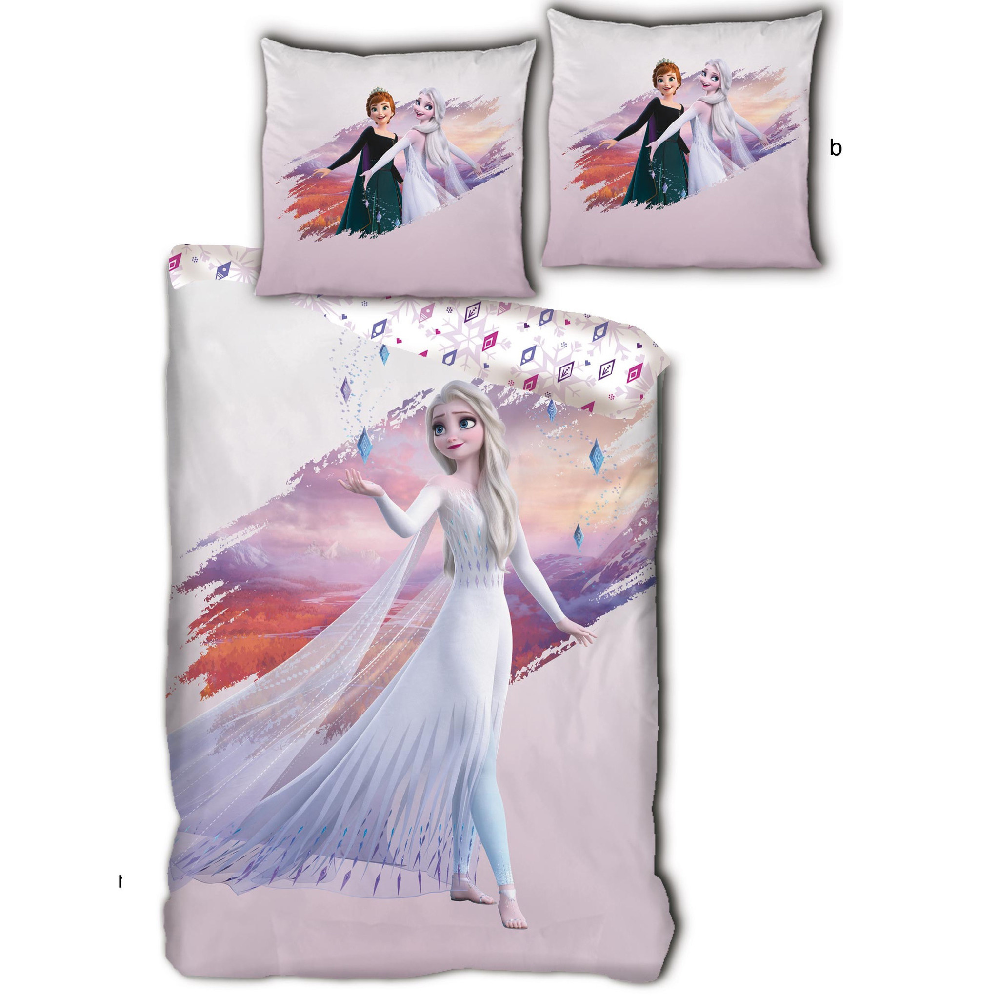 Disney Frozen Duvet cover Elsa - Single - 140 x 200 cm - Polyester
