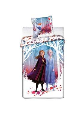 Disney Frozen dekbedovertrek 140 x 200 65x65 cm