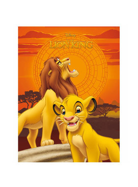 Disney The Lion King Fleece plaid Simba 100 x 140 cm