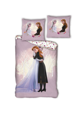 Disney Frozen Duvet cover Hug cotton 140x200xm + 65x65cm