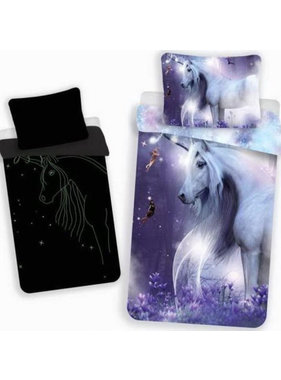 Unicorn BABY Duvet cover Glow in the Dark 100 x 135 cm