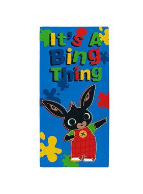 Bing Bunny Beach towel Bing Thing 70 x 140 cm