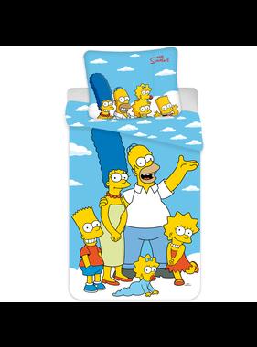 The Simpsons Dekbedovertrek Portret 140 x 200