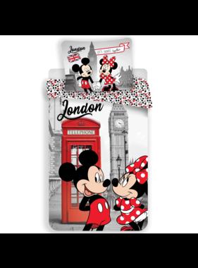 Disney Minnie Mouse Dekbedovertrek Londen 140 x 200