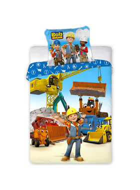Bob de Bouwer BABY Dekbedovertrek Construction Zone 100 x 135 cm