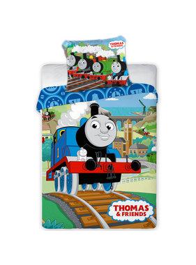 Thomas de Trein BABY Dekbedovertrek Railway 100 x 135 cm