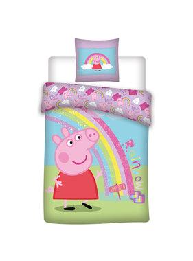 Peppa Pig Duvet cover Rainbow 140 x 200
