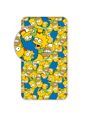 The Simpsons Hoeslaken Faces 90 x 200