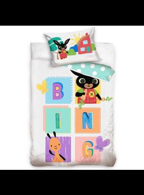 Bing Bunny BABY Dekbedovertrek BING 100 x 135 cm