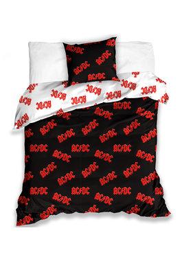 ACDC Dekbedovertrek Logo 140 x 200