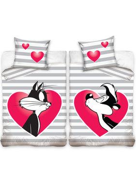 Looney Tunes Dekbedovertrek Penelope & Pepé 140 x 200