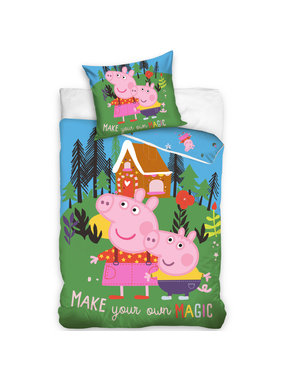 Peppa Pig Duvet cover Magic Forest 140 x 200