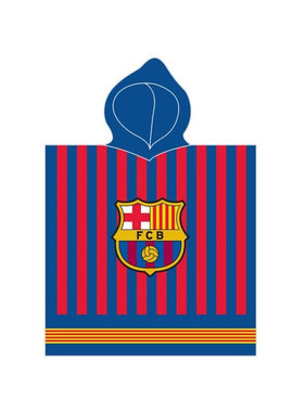 FC Barcelona Poncho Logo 60 x 120 cm