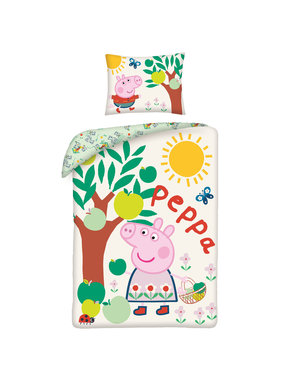 Peppa Pig Duvet cover Apple tree 140 x 200