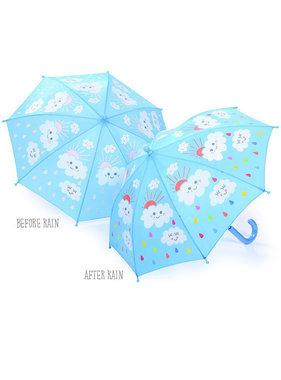 Floss & Rock Paraplu Regen en Wolkjes - ø 67 cm