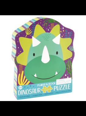 Floss & Rock Puzzel Dino - 12 stukjes