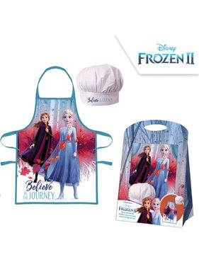 Disney Frozen Apron and Chef's Hat Journey 4-8 Years