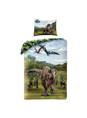 Jurassic World Dekbedovertrek Camo 140 x 200