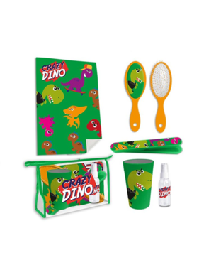 Dinosaurus Toilet Travel set Crazy Dino - 6 pieces