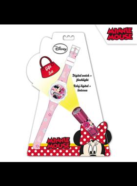 Disney Minnie Mouse Watch + Flashlight Set