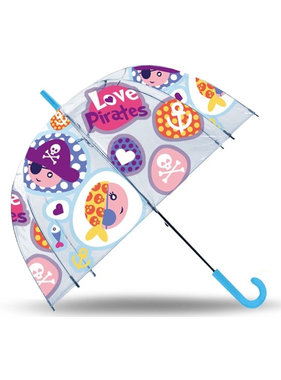 Piraten Umbrella Love Pirates - ø 70 cm