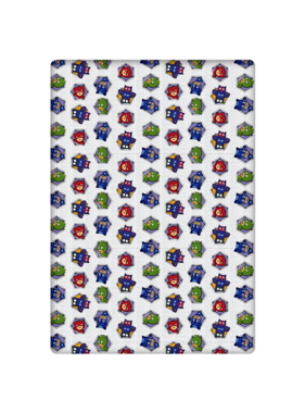 PJ Masks Fitted sheet Hexagon 90 x 200 Flannel