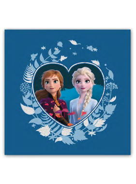 Disney Frozen Cushion Hearts 40 x 40 cm