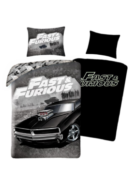 The Fast and the Furious Duvet cover Stealth 140 x 200