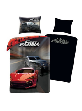 The Fast and the Furious Duvet cover Racing 140 x 200