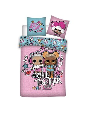 L.O.L. Surprise Duvet cover Chill Together 140 x 200 Polyester