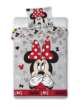 Disney Minnie Mouse Dekbedovertrek Love 140 x 200