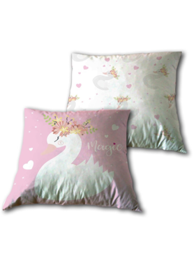 Animal Pictures Cushion Swan 40 x 40 cm