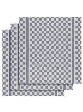 De Witte Lietaer Tea towel Groom-A Skipper Blue 3 pieces 65 x 70 cm