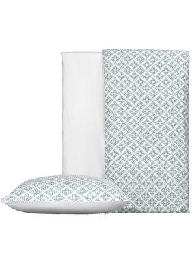 De Witte Lietaer Duvet cover Cotton Satin Azulejos Tourmalin 140 x 200/220 cm